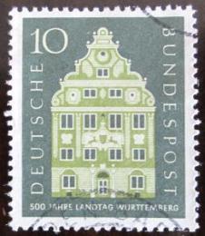 Poštovní známka Nìmecko 1957 Architektura Mi# 279
