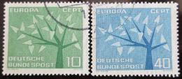 Poštovní známky Nìmecko 1962 Evropa CEPT Mi# 383-84