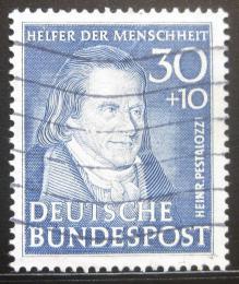 Poštovní známka Nìmecko 1951 J. Pestalozzi Mi# 146 Kat 120€