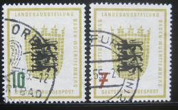 Poštovní známky Nìmecko 1955 Znak Baden-Württemberg Mi# 212-13