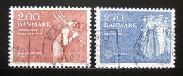 Poštovní známky Dánsko 1982 Evropa CEPT Mi# 749-50