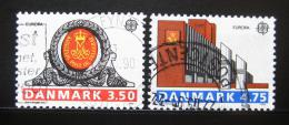 Poštovní známky Dánsko 1990 Evropa CEPT Mi# 974-75
