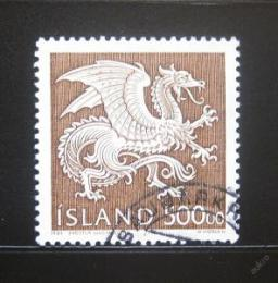 Poštovní známky Island 1989 Strážný duch, Drak Mi# 703 Kat 15€