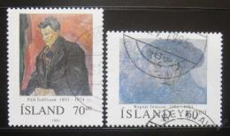 Poštovní známky Island 1991 Umìní Mi# 751-52