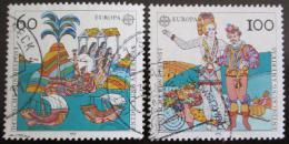 Poštovní známky Nìmecko 1992 Evropa CEPT Mi# 1608-09