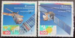 Poštovní známky Nìmecko 1991 Satelity, Evropa CEPT Mi# 1526-27