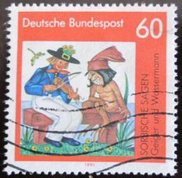 Poštovní známka Nìmecko 1991 Lužické legendy Mi# 1576
