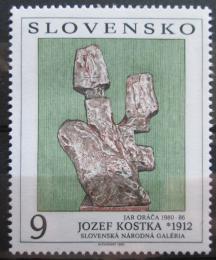 Poštovní známka Slovensko 1993 Umìní, Jozef Kostka Mi# 185