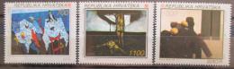 Poštovní známky Chorvatsko 1993 Evropa CEPT, umìní Mi# 240-42 Kat 6€