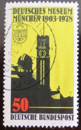 Poštovní známka Nìmecko 1978 Vìdecké muzeum Mi# 963