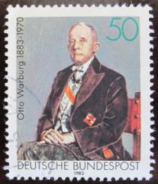 Poštovní známka Nìmecko 1983 Otto Warburg, biochemik Mi# 1184