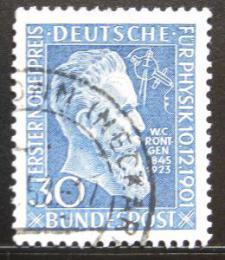 Poštovní známka Nìmecko 1951 W. K. Roentgen Mi# 147 Kat 20€
