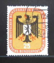 Poštovní známka Západní Berlín 1956 Mìstský znak Mi# 137
