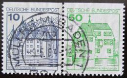 Poštovní známky Nìmecko 1977 Zámky
