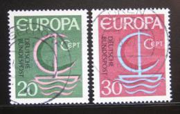 Poštovní známky Nìmecko 1966 Evropa CEPT Mi# 519-20