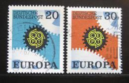 Poštovní známky Nìmecko 1967 Evropa CEPT Mi# 533-34