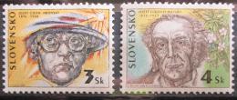 Poštovní známky Slovensko 1996 Osobnosti Mi# 246-47