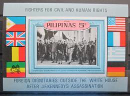 Poštovní známka Filipíny 1968 Osobnosti Mi# Block 94 I