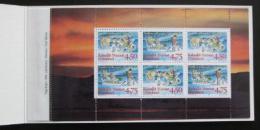 Sešitek Grónsko 1997 Vánoce Mi# MH 8 Kat $28