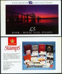 Sešitek Velká Británie 1989 Skotsko SC# BK153