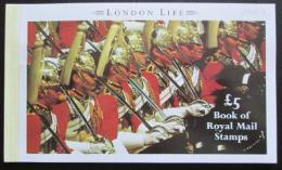 Sešitek Velká Británie 1990 Život v Londýnì SC# BK154 Kat $37.50
