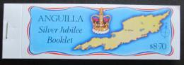 Sešitek Anguilla 1977 Støíbrné jubileum, královna Alžbìta II.