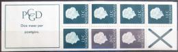 Sešitek Nizozemí 1967 Královna Juliana sešitek Mi# MH 7x