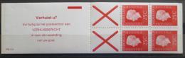 Sešitek Nizozemí 1971 Královna Juliana Mi# MH 9x