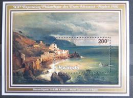 Poštovní známka Rwanda 1980 Umìní, Gigante Mi# Block 89