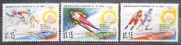 Poštovní známky Aitutaki 1994 ZOH Lillehammer Mi# 713-15 Kat 12€