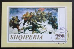 Poštovní známka Albánie 1969 Umìní, Fatmir Haxhiu Mi# Block 47