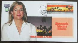 FDC Argentina 2005 Princezna Maxima Mi# 2887