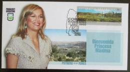 FDC Argentina 2005 Princezna Maxima Mi# 2888