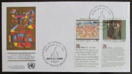 FDC OSN Ženeva 1991 Lidská práva Mi# 208-9 Kat 11€