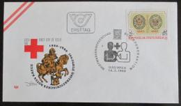 FDC Rakousko 1980 Èervený køíž Mi# 1634