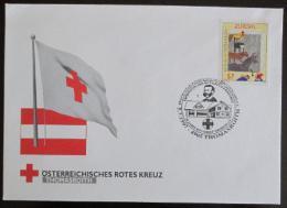 FDC Rakousko 1997 Èervený køíž, Evropa CEPT