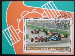 Poštovní známka Manáma 1969 Závody Formule 1 Mi# Block A 33 A