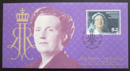 FDC Grenada Gren. 2004 Královna Juliana Mi# 4115