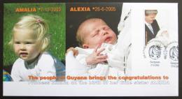 FDC Guyana 2005 Princezny Amálie a Alexia Mi# 7631