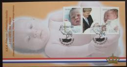 FDC Guyana 2003 Narození princezny Amálie Mi# 7630-32