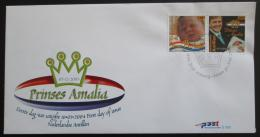 FDC Nizozemské Antily 2004 Narození princezny Amálie Mi# 1262-63