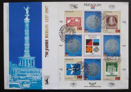 FDC Paraguay 1987 Berlín, 750. výroèí Mi# 4129 Bogen Vysoký Kat.