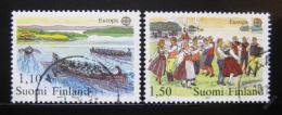 Poštovní známky Finsko 1981 Evropa CEPT Mi# 881-82
