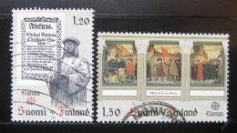 Poštovní známky Finsko 1982 Evropa CEPT Mi# 899-900