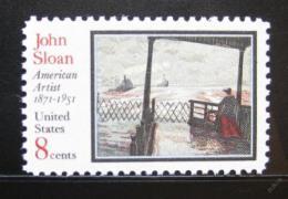 Poštovní známka USA 1971 Umìní, John Sloan Mi# 1045