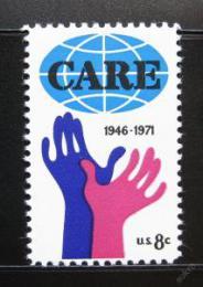 Poštovní známka USA 1971 CARE, 25. výroèí Mi# 1051