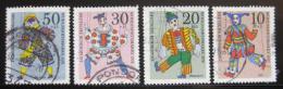 Poštovní známky Nìmecko 1970 Loutky Mi# 650-53