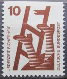 Poštovní známka Nìmecko 1974 Prevence nehod Mi# 695 C