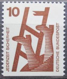 Poštovní známka Nìmecko 1974 Prevence nehod Mi# 695 D