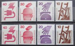 Poštovní známky Nìmecko 1974 Prevence nehod Mi# 695-99 C-D Kat 18€